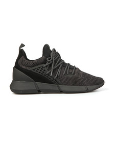 Cortica Mens Black Rapide Knit Trainers