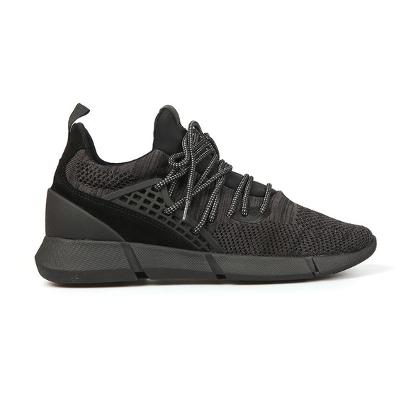 Cortica Mens Black Rapide Knit Trainers main image