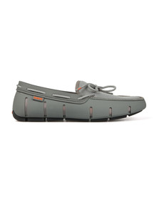 Swims Mens Grey Stride Lace Loafer
