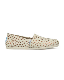 Toms Womens Pink Classic Canvas
