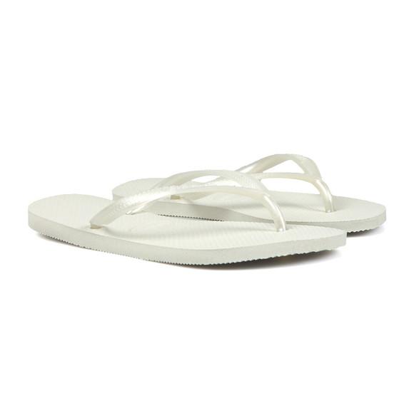 Havaianas Unisex White
