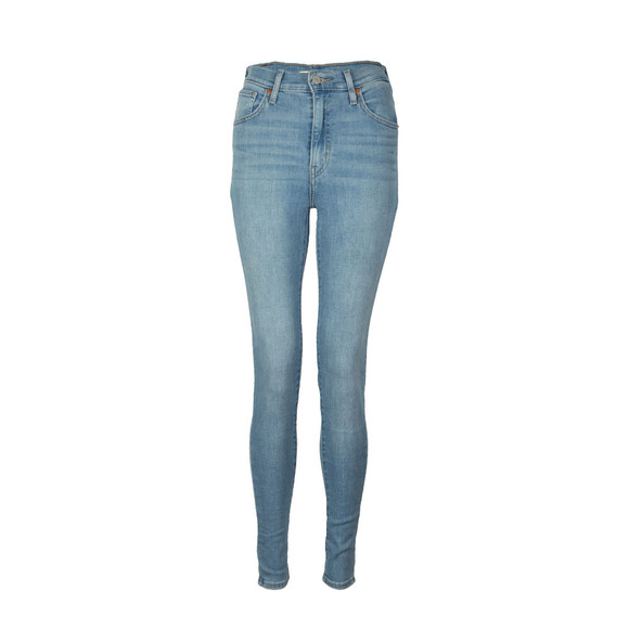 Levi's Womens Blue Mile High Super Skinny Jean  main image