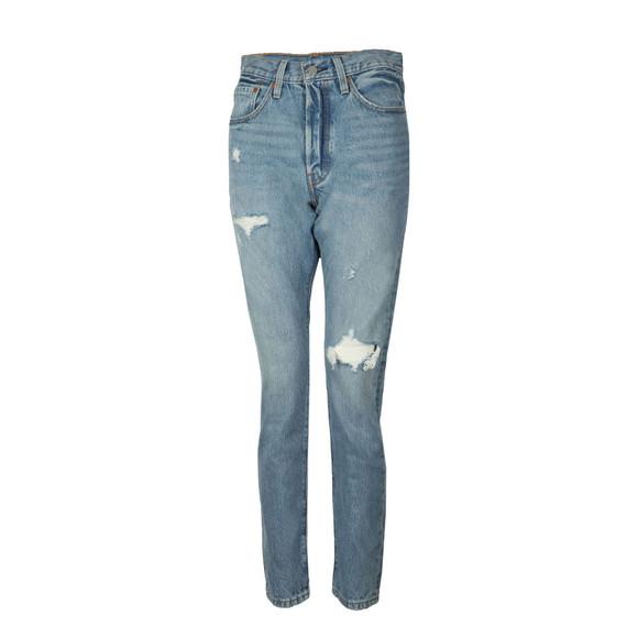 Levi's Womens Blue 501 Skinny Jean main image