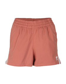 Adidas Originals Womens Pink 3 Stripe Shorts