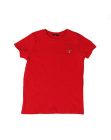 Gant Boys Red Boys Original T Shirt