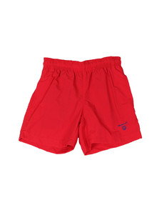 Gant Boys Red Boys Basic Swim Shorts
