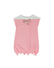 Billieblush Girls Pink U12379 Stripe Dress