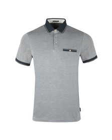 Ted Baker Mens Blue S/S Soft Touch Polo