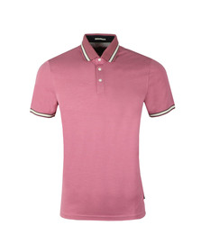 Ted Baker Mens Pink S/S Birdseye Polo