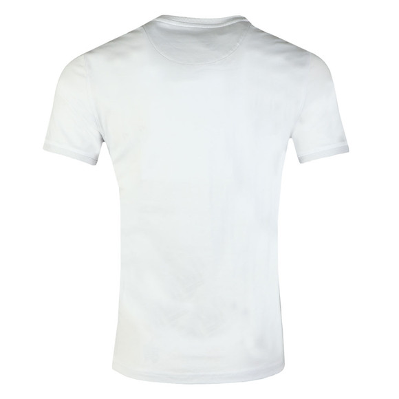 Ted Baker Mens White S/S Solid Crew Tee main image