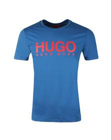 Hugo Mens Blue Dolive T Shirt