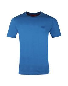 Hugo Mens Blue Dero Crew T Shirt