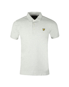 Lyle and Scott Mens Grey S/S Polo