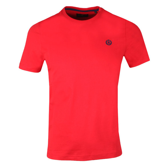 Henri Lloyd Mens Red Radar Regular Tee main image