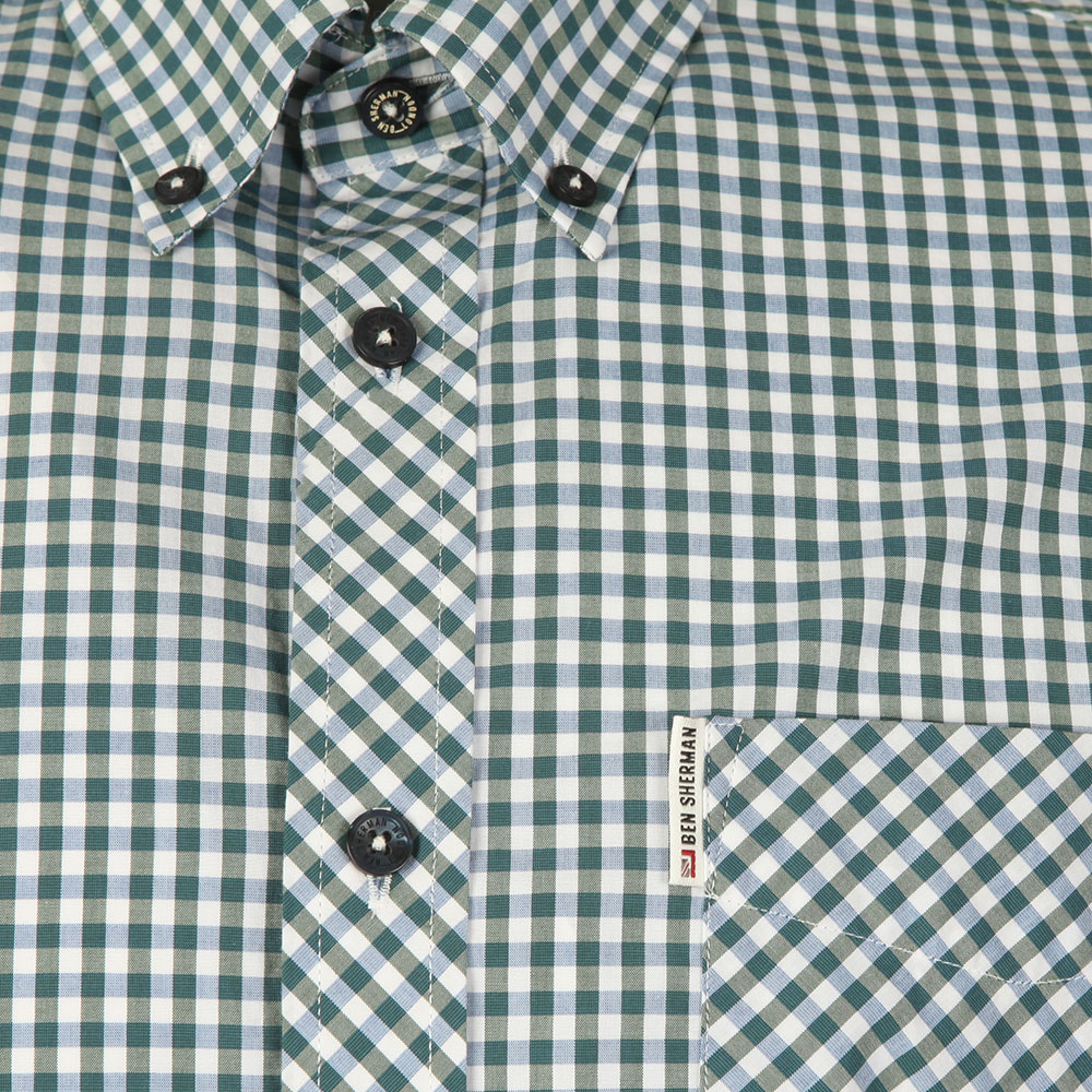 S/S Gingham Check Shirt main image