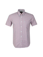 S/S Gingham Check Shirt