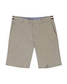 Aquascutum Mens Beige Seaton Vicuna Stripe Detail Shorts