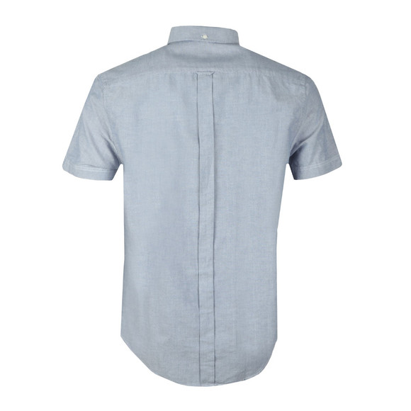 Ben Sherman Mens Blue S/S Classic Oxford Shirt main image