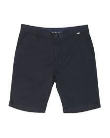 Aquascutum Mens Blue Gowan Light Weight Cotton Shorts