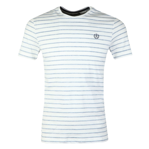 Henri Lloyd Mens Blue Bretton Stripe T-Shirt main image