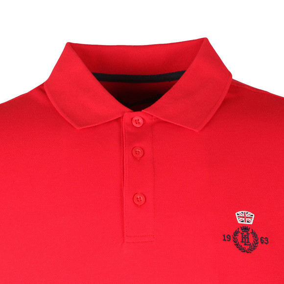 Henri Lloyd Mens Red S/S Benton Polo main image