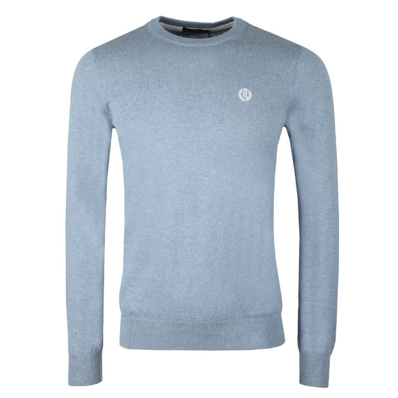 Henri Lloyd Mens Blue Miller Crew Neck Jumper main image