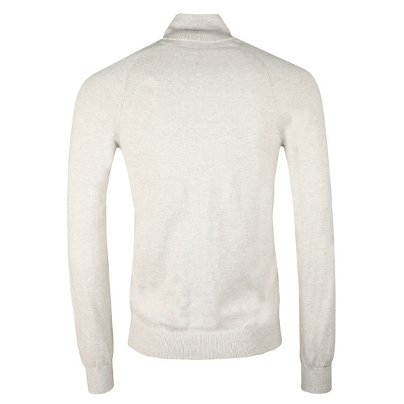 Henri Lloyd Mens Grey Miller Regular Half Zip Knit main image