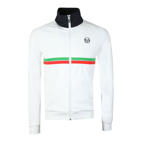 Sergio Tacchini Mens White Dallas Track Top main image