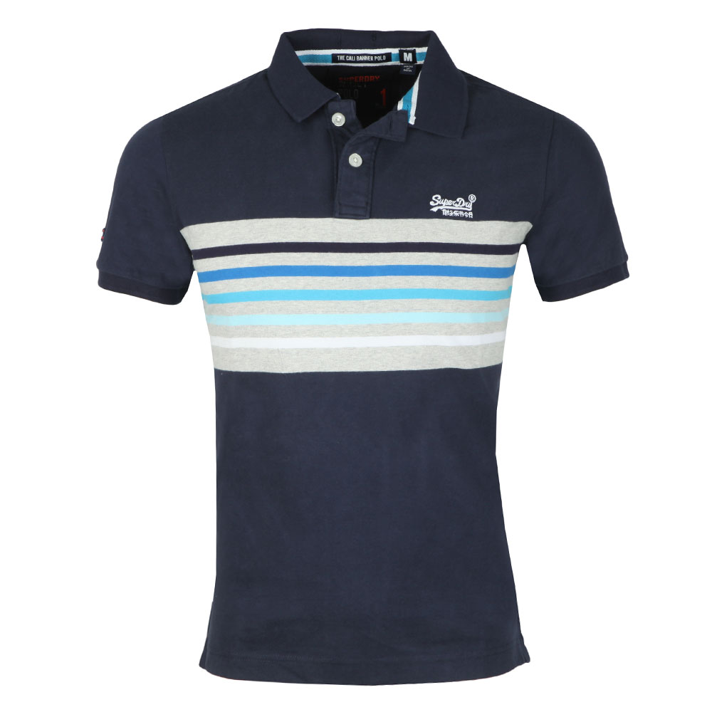 S/SCali  Banner Stripe Polo main image
