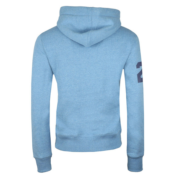 Superdry Mens Blue Sweat Shirt Store Tri Hoody main image