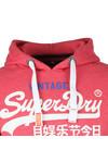 Superdry Mens Red Premium Goods Duo Hood