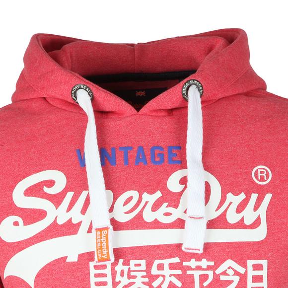 Superdry Mens Red Premium Goods Duo Hood main image