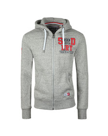 Superdry Mens Grey Trackster Ziphood