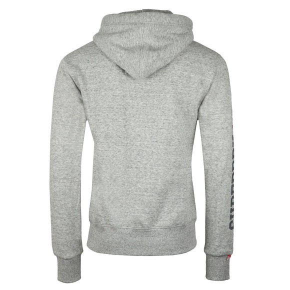 Superdry Mens Grey Trackster Ziphood main image