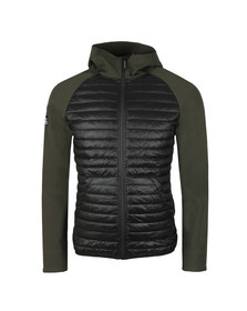 Superdry Mens Green Mountaineer Softshell Hybrid Jacket