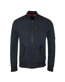 Superdry Mens Blue SDR Wax Flight Bomber