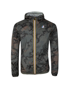 K-Way Mens Green Le Vrai 3.0 Claude Jacket