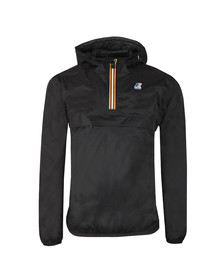 K-Way Mens Black Le Vrai 3.0 Leon 1/2 Zip Jacket