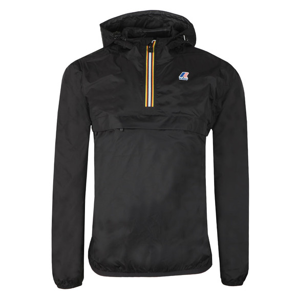K-Way Mens Black Le Vrai 3.0 Leon 1/2 Zip Jacket main image