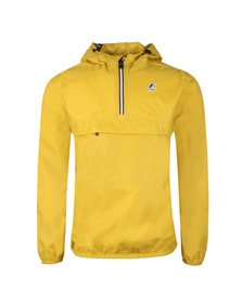 K-Way Mens Yellow Le Vrai 3.0 Leon 1/2 Zip Jacket