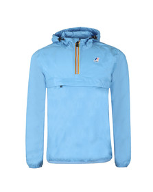 K-Way Mens Blue Le Vrai 3.0 Leon 1/2 Zip Jacket
