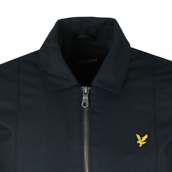 Lyle and Scott Mens Blue Collard Bomber Jacket main image