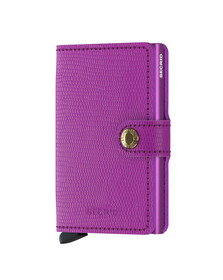 Secrid Mens Purple Rango Miniwallet