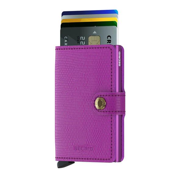 Secrid Mens Purple Rango Miniwallet main image