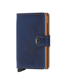 Secrid Mens Blue Mini Wallet