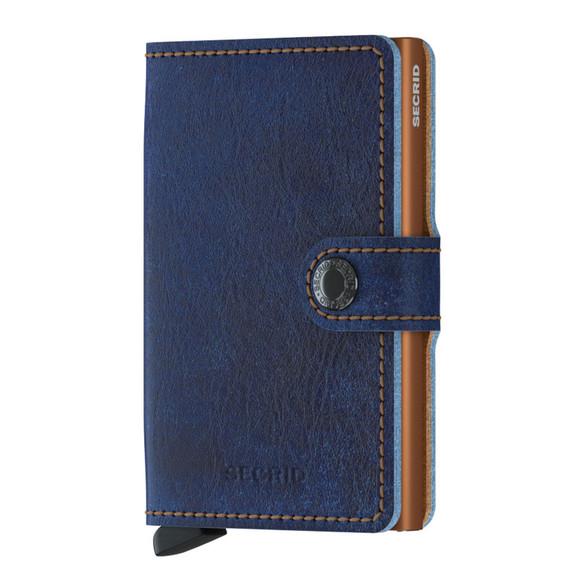 Secrid Mens Blue Mini Wallet