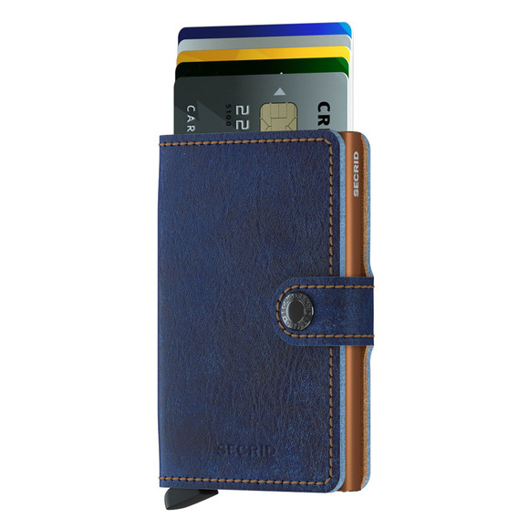Secrid Mens Blue Mini Wallet main image