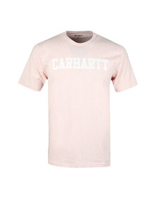 Carhartt Mens Beige Carhartt College Crew Tee