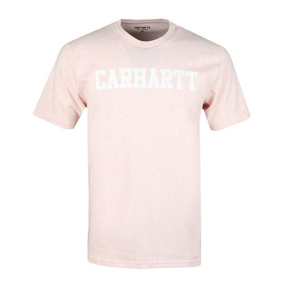 Carhartt Mens Beige Carhartt College Crew Tee main image