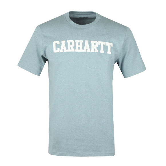Carhartt Mens Blue Carhartt College Crew Tee main image
